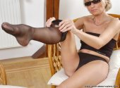 Tan pantyhose and stockings have been